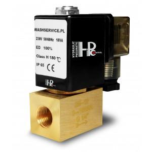 Ηλεκτρομαγνητική βαλβίδα 2M08 1/4 ιντσών 0-16bar 230V 24V 12V