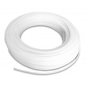 Πλαστικός σωλήνας πολυαμιδίου PA Tekalan 12/9 mm 1m λευκό