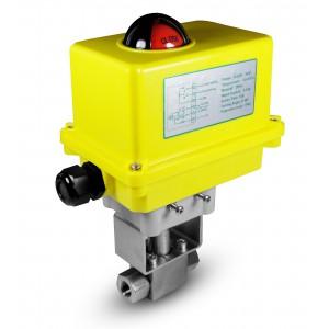 Βαλβίδα υψηλής πίεσης 1/4 ιντσών SS304 HB22 με ηλεκτρικό ενεργοποιητή A250