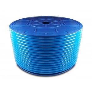Πνευματικός σωλήνας πολυουρεθάνης PU 6/4 mm 1m μπλε