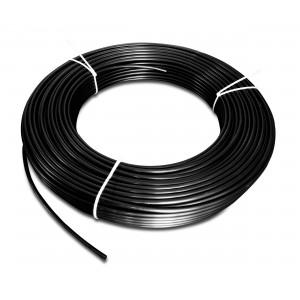 Πλαστικός σωλήνας πολυαμιδίου PA Tekalan 6/4 mm 1m μαύρο