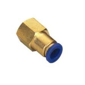 Συνδέστε τον εύκαμπτο σωλήνα θηλής 6mm εσωτερικό σπείρωμα 1/4 ιντσών PCF06-G02