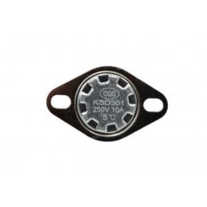 Διμεταλλικός θερμοστάτης, αισθητήρας θερμοκρασίας NC 5 ℃ 10A 230VAC τύπου KSD301