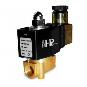 Ηλεκτρομαγνητική βαλβίδα 2N08 1/4 230V ή 24V, 12V Viton - ανθεκτική στις χημικές ουσίες