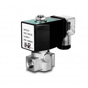 Υψηλής πίεσης ηλεκτρομαγνητική βαλβίδα HP15-M ανοξείδωτο χάλυβα SS304 110bar