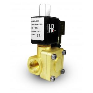Η ηλεκτρομαγνητική βαλβίδα ανοίγει 2K15 ΟΧΙ 1/2 ίντσα 230V ή 12V 24V