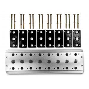 Συλλεκτική πλάκα για σύνδεση 8 βαλβίδων 1/4 σειρά 4V2 4A ακροδέκτης βαλβίδας ομάδας 5/2 5/3
