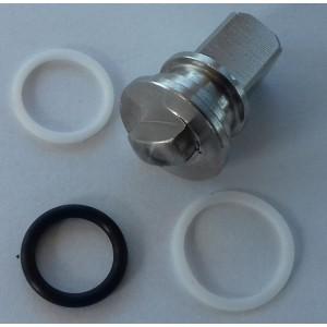 Σετ επισκευής για υψηλής πίεσης βαλβίδα 3 κατευθύνσεων 1/4 ιντσών ss304 HB3