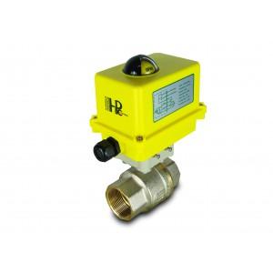 Σφαιρική βαλβίδα 1 1/2 ίντσας DN40 με ηλεκτρικό ενεργοποιητή A250