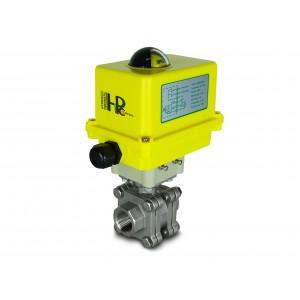 Βαλβίδα υψηλής πίεσης 1 ιντσών DN25 PN125 Ενεργοποιητής A250
