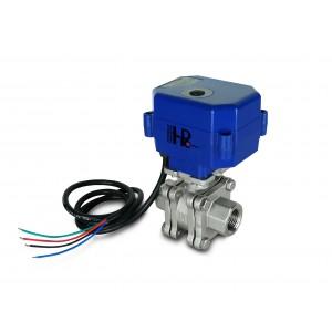 1/2 ίντσα υψηλής πίεσης βαλβίδα PN125 με ενεργοποιητή A80 ή A82
