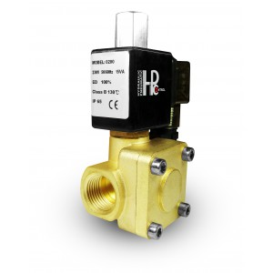 Η ηλεκτρομαγνητική βαλβίδα 2K25 ανοίγει NO 1 ίντσα 230V ή 12V 24V