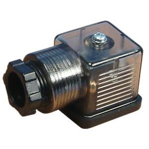Συνδέστε την ηλεκτρομαγνητική βαλβίδα 18mm DIN 43650 με LED