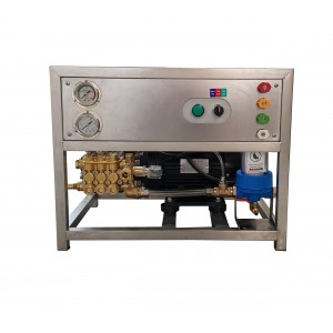 Ρυθμίστε την αντλία και τον κινητήρα στο πλαίσιο για πλύσιμο με αξεσουάρ 13 l / min 150bar ισοδύναμο CAT350