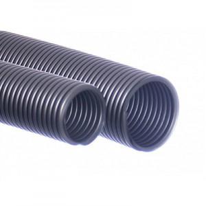 Σωλήνας ηλεκτρικής σκούπας 38/40 mm ασημί 5m EVA