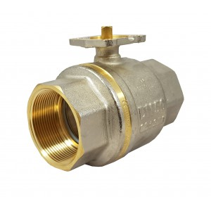 Βαλβίδα μπάλας 2 ίντσες DN50 PN25 πλάκα στήριξης ISO5211