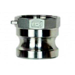 Υποδοχή Camlock - τύπος A 1 1/4 ιντσών DN32 SS316